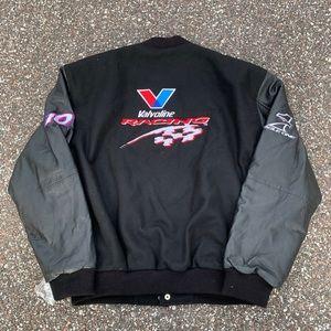 Other - Vintage Nascar Valvoline Racing Bomber Jacket L
